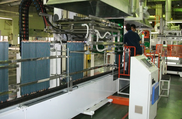 condenser-auto-brazing-machine