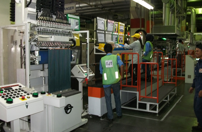condenser-reflaring-machine