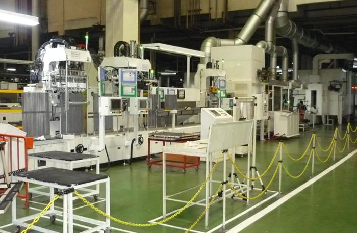 evaporator-brazing-line