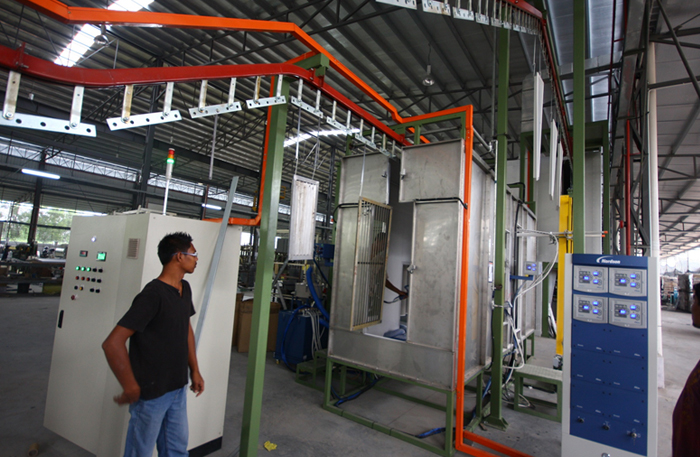 powder-coating-line